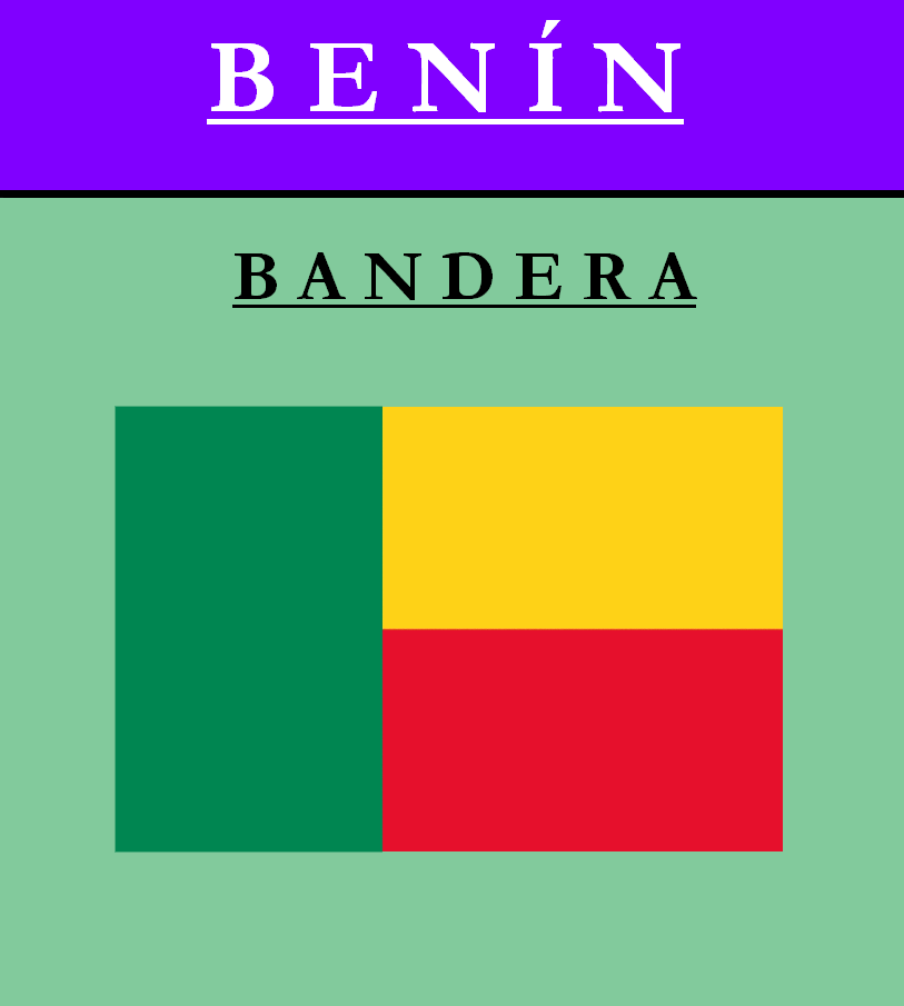 Escudo de BANDERA DE BENÍN