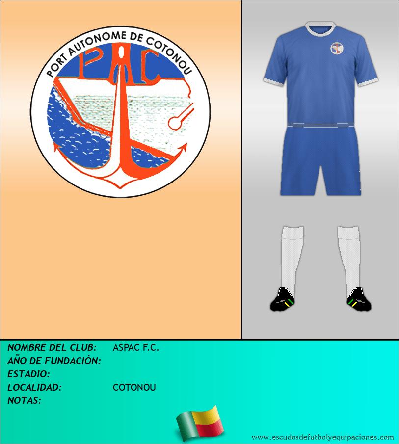 Escudo de ASPAC F.C.
