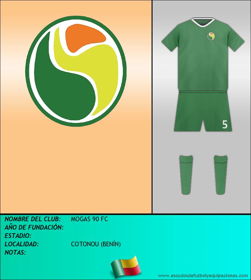 Escudo de MOGAS 90 FC
