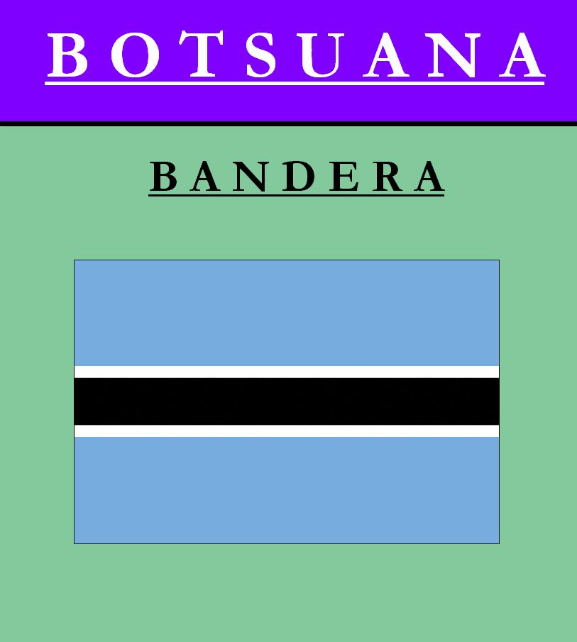 Escudo de BANDERA DE BOTSUANA