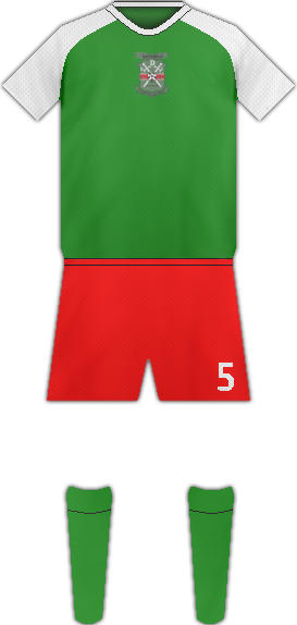 Equipación BOTSWANA DEFENSE FORCE XI FC