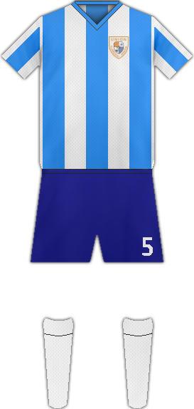 Equipación UNIÓN FLAMENGO SANTOS FC