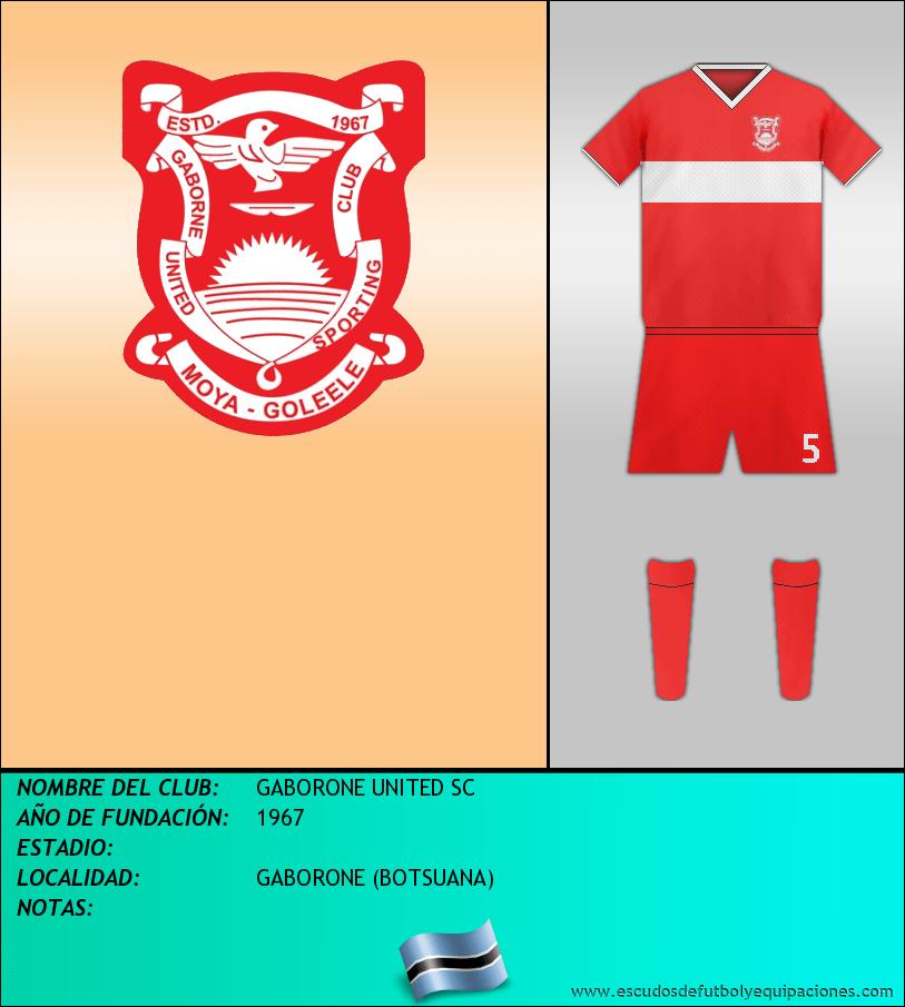Escudo de GABORONE UNITED SC