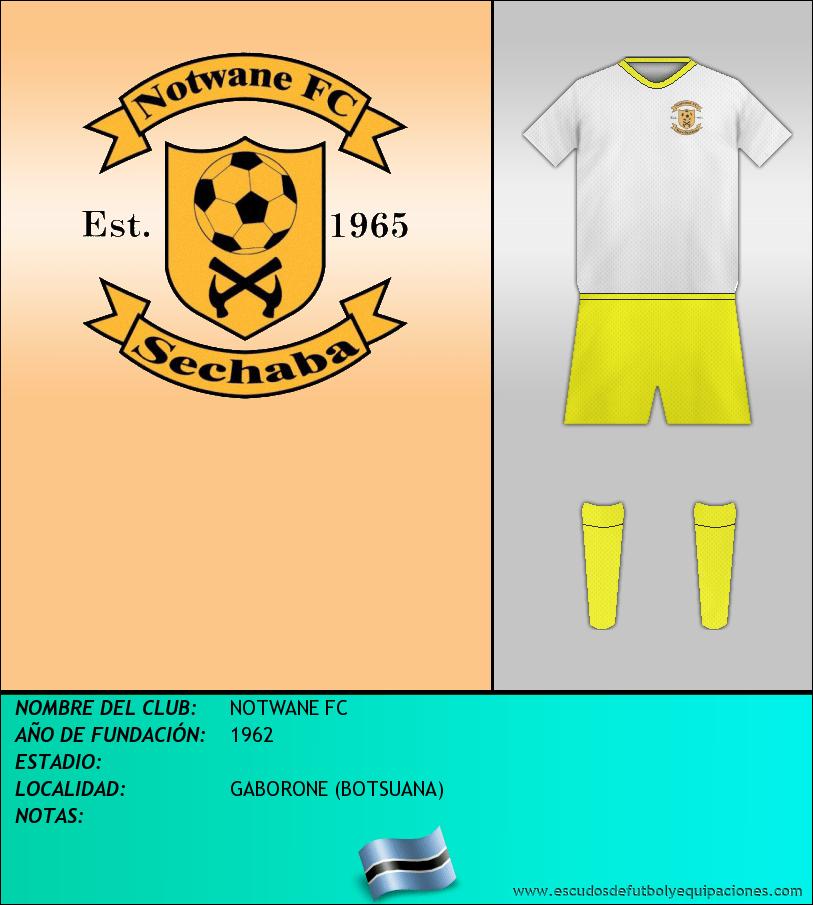 Escudo de NOTWANE FC