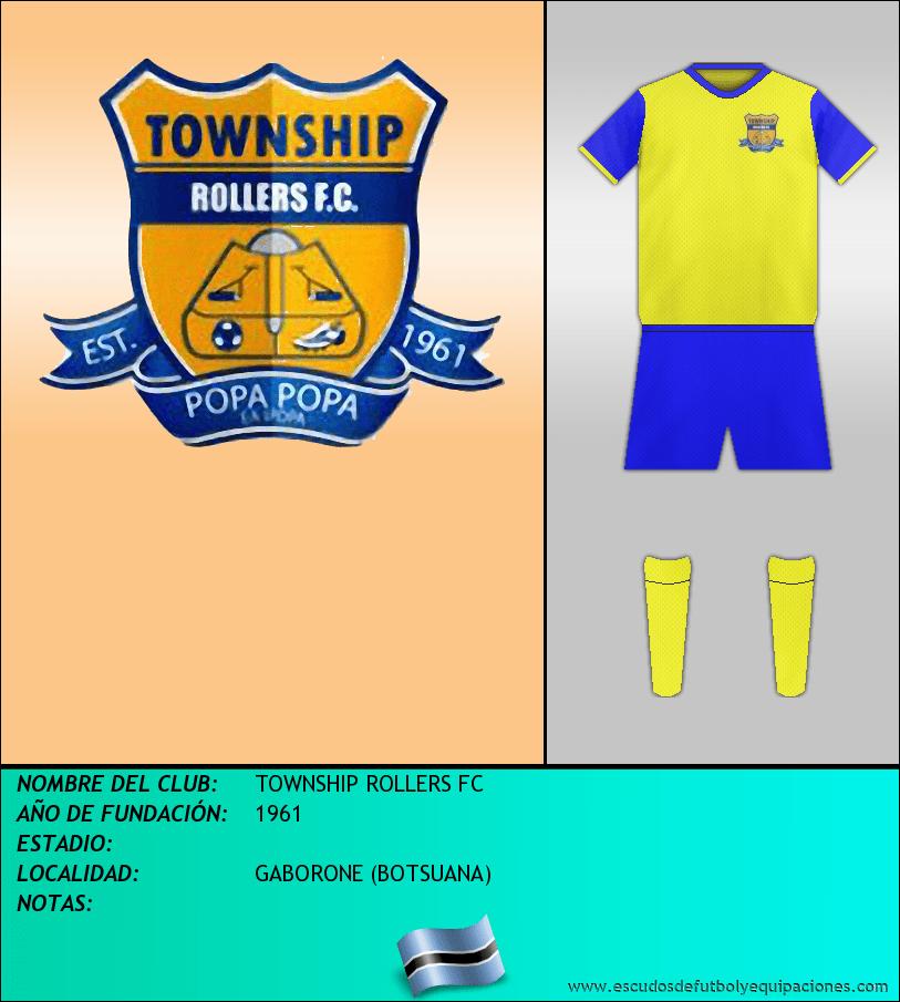Escudo de TOWNSHIP ROLLERS FC