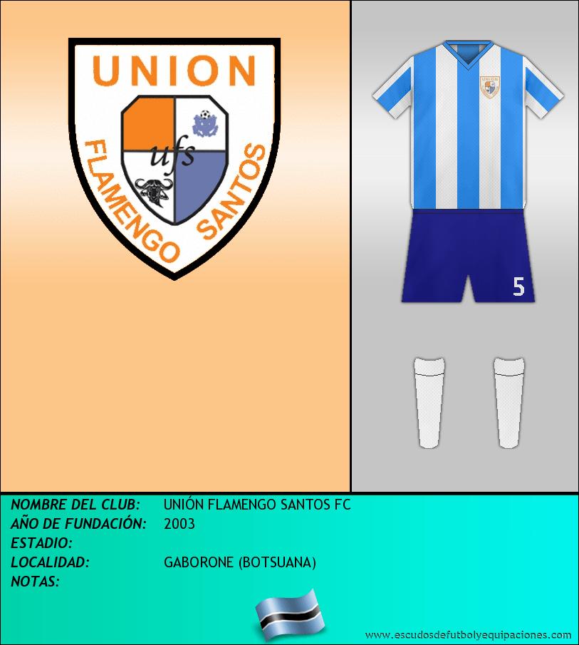 Escudo de UNIÓN FLAMENGO SANTOS FC