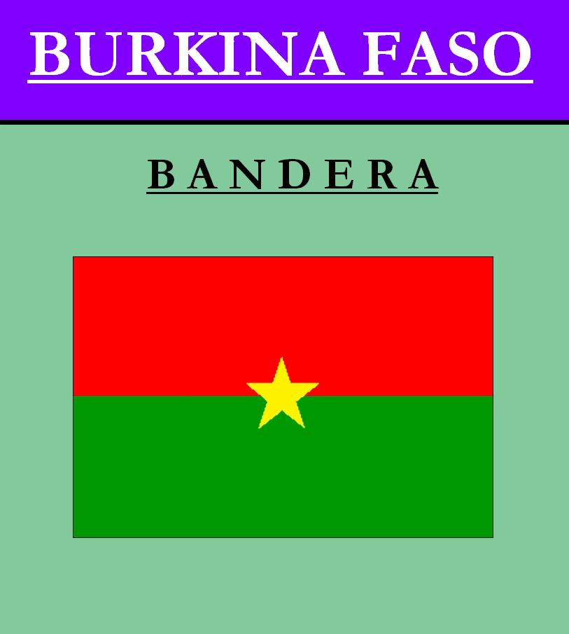 Escudo de BANDERA DE BURKINA FASO