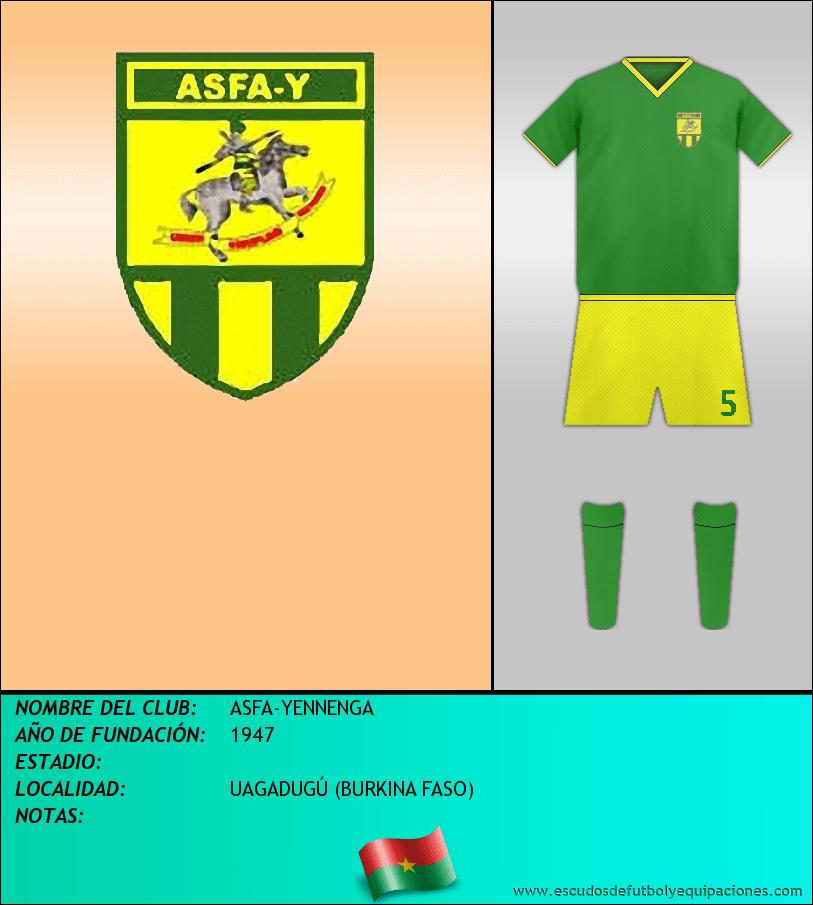 Escudo de ASFA-YENNENGA