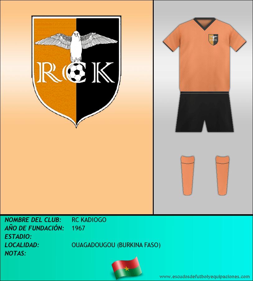 Escudo de RC KADIOGO