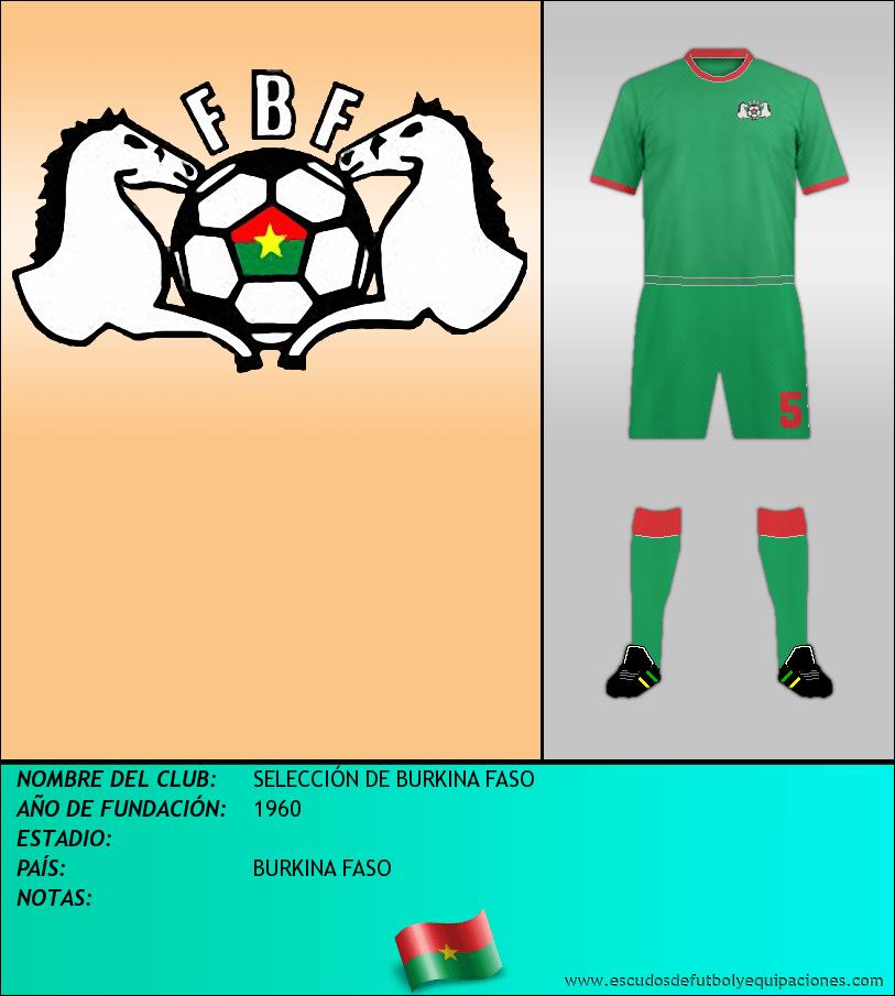 Escudo de SELECCIÓN DE BURKINA FASO
