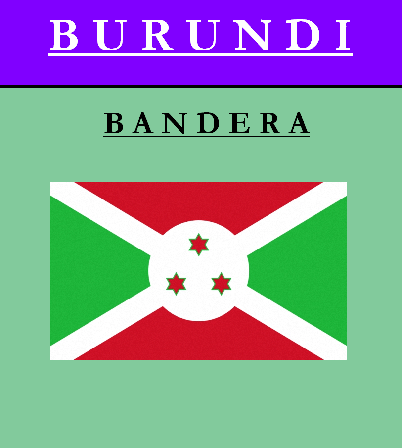 Escudo de BANDERA DE BURUNDI