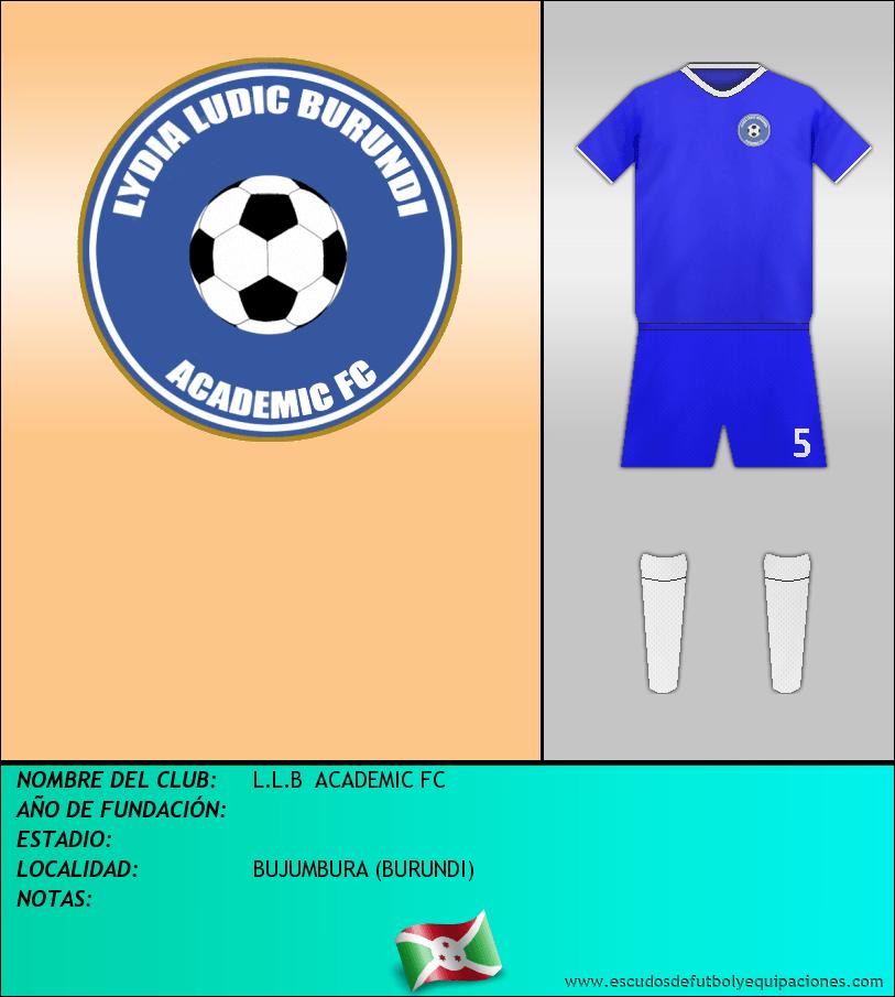 Escudo de L.L.B  ACADEMIC FC