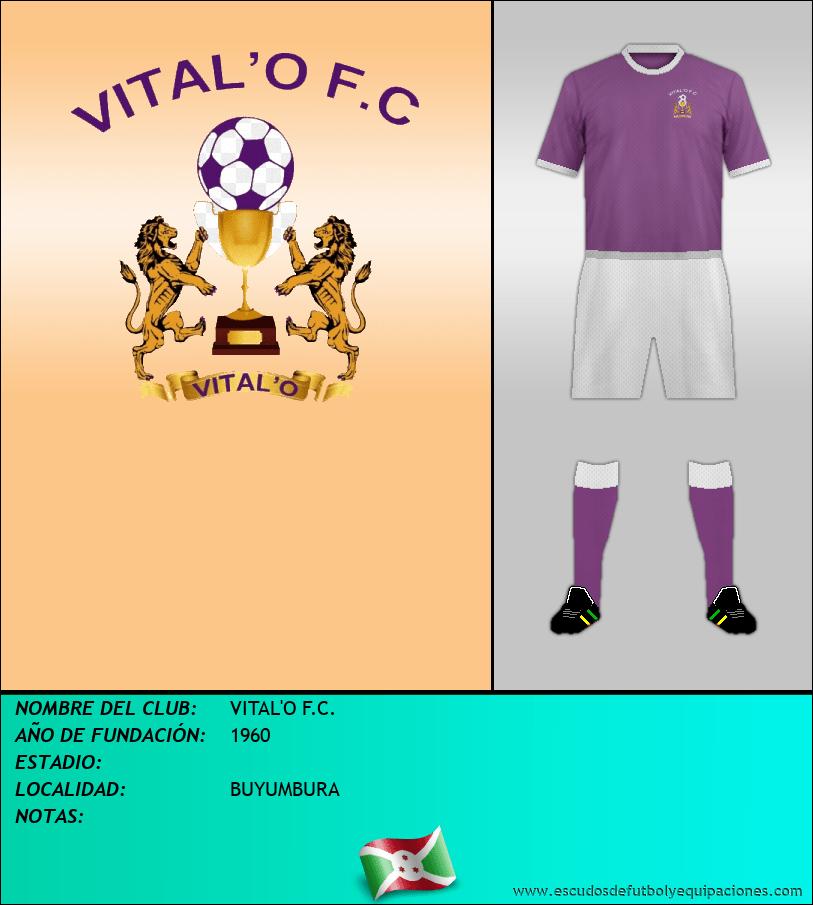 Escudo de VITAL'O F.C.