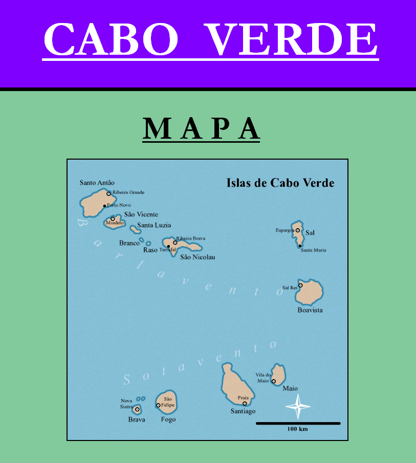 Escudo de MAPA DE CABO VERDE