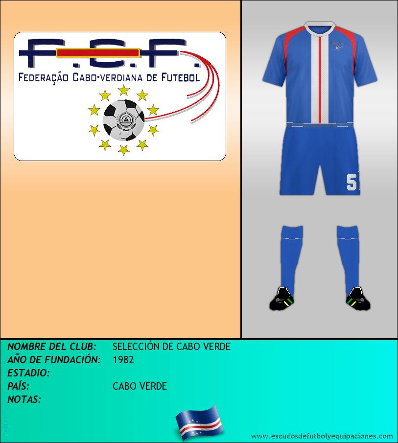 Escudo de SELECCIÓN DE CABO VERDE