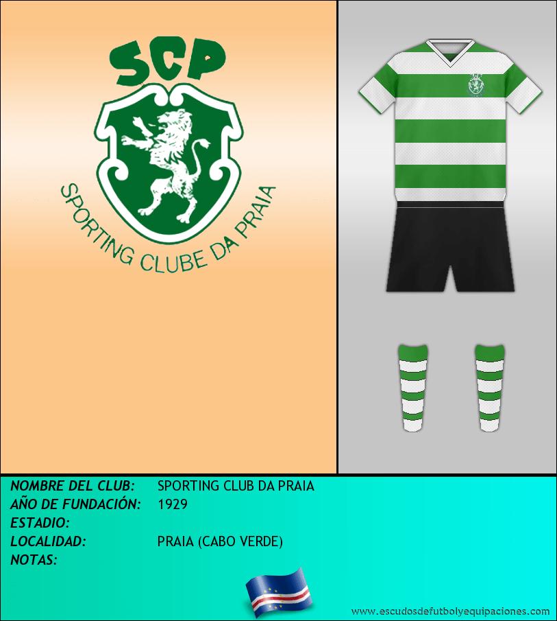 Escudo de SPORTING CLUB DA PRAIA