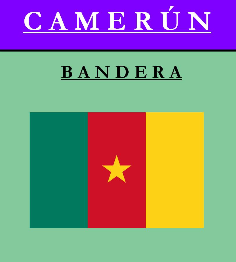 Escudo de BANDERA DE CAMERÚN