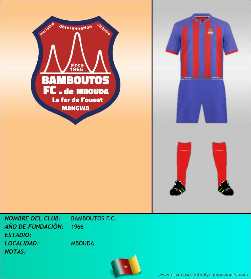 Escudo de BAMBOUTOS F.C.