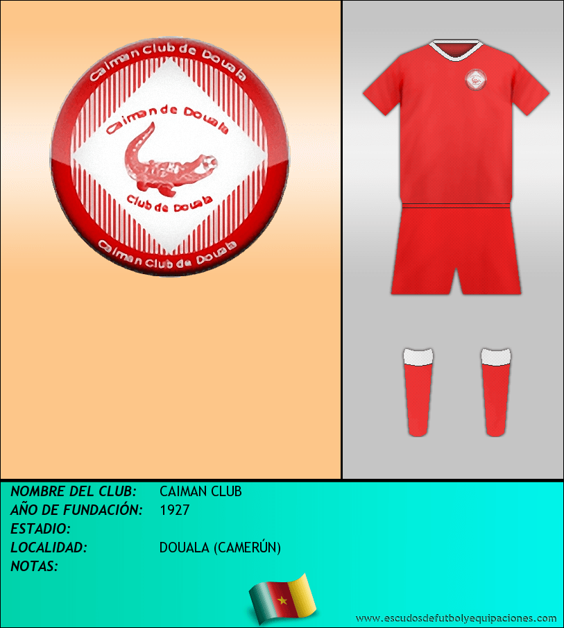 Escudo de CAIMAN CLUB