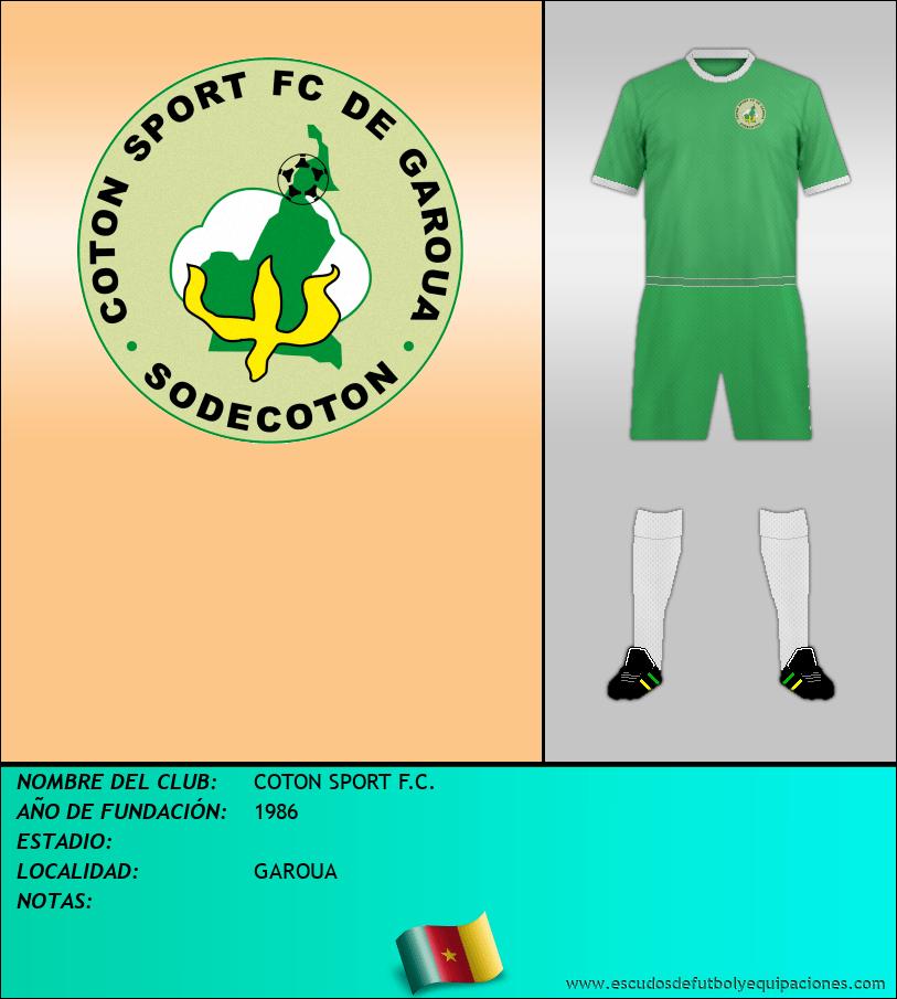 Escudo de COTON SPORT F.C.