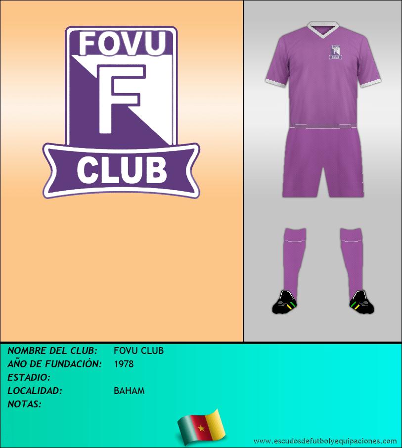 Escudo de FOVU CLUB