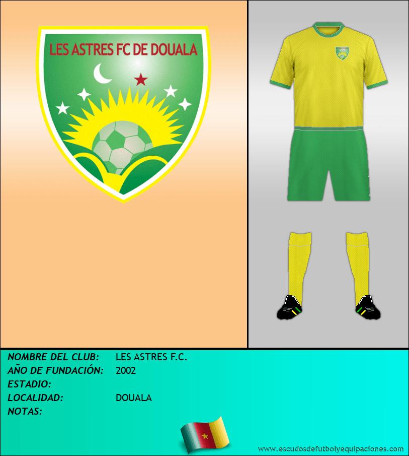 Escudo de LES ASTRES F.C.