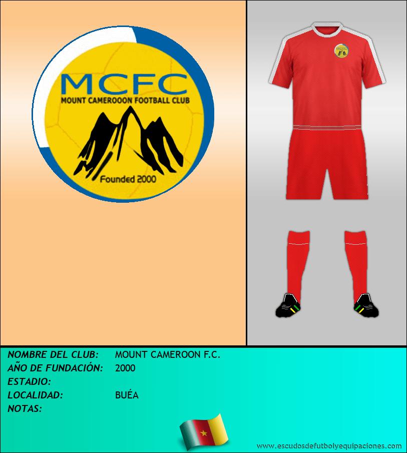 Escudo de MOUNT CAMEROON F.C.