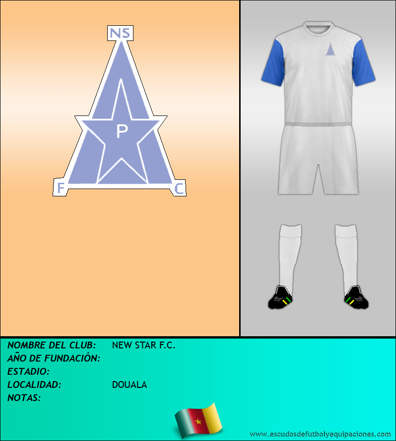 Escudo de NEW STAR F.C.