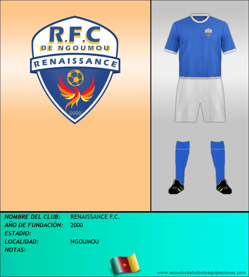 Escudo de RENAISSANCE F.C.