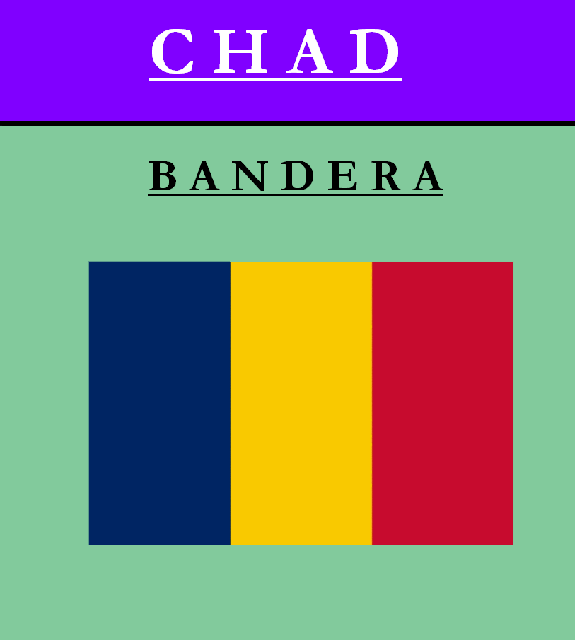Escudo de BANDERA DE CHAD