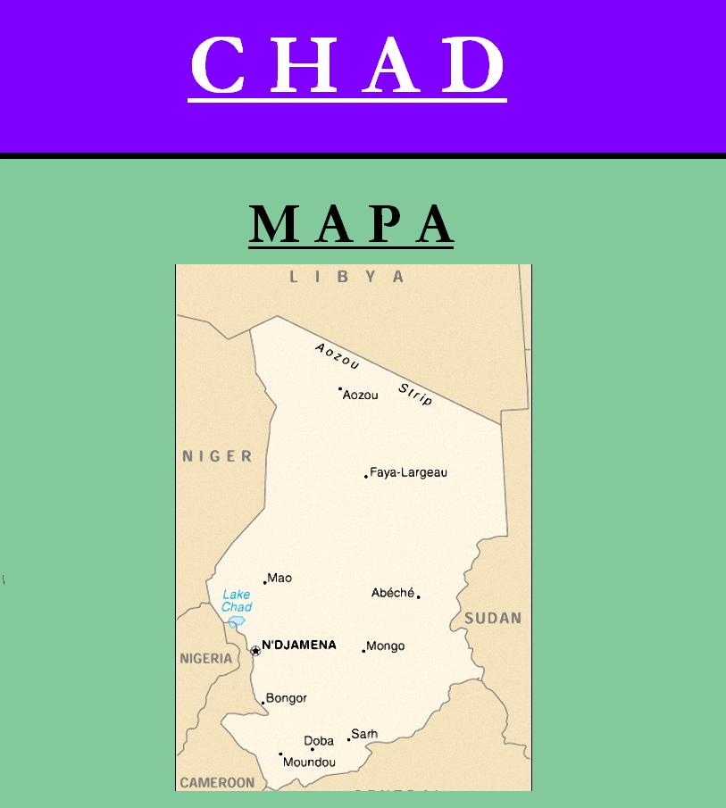 Escudo de MAPA DE CHAD
