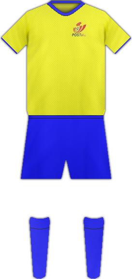 Equipación POSTEL 2000 FC
