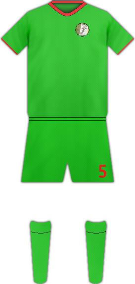 Equipación RENAISSANCE FC