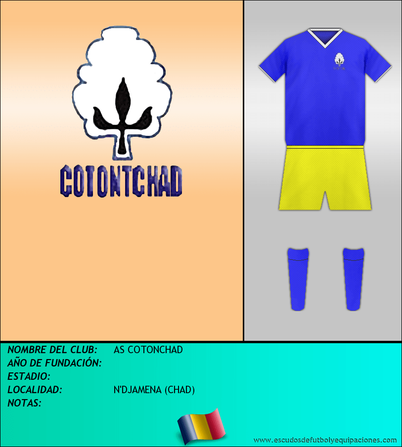 Escudo de AS COTONCHAD