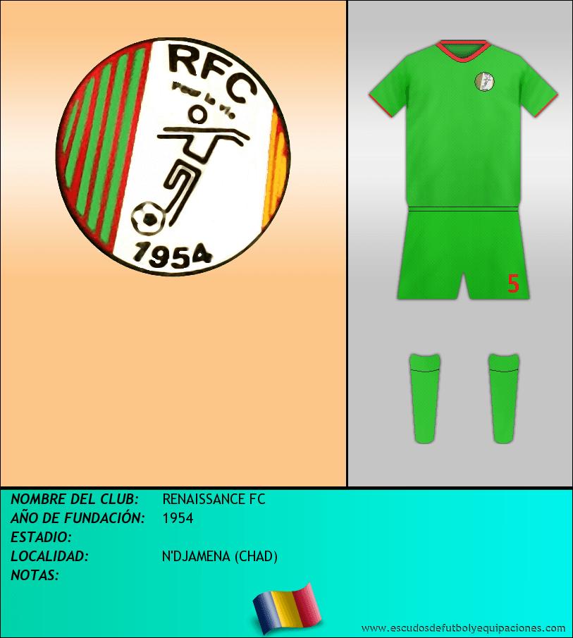 Escudo de RENAISSANCE FC