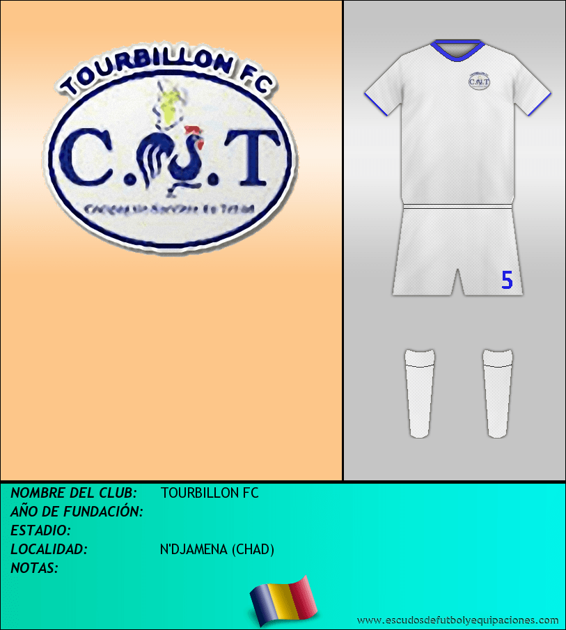 Escudo de TOURBILLON FC