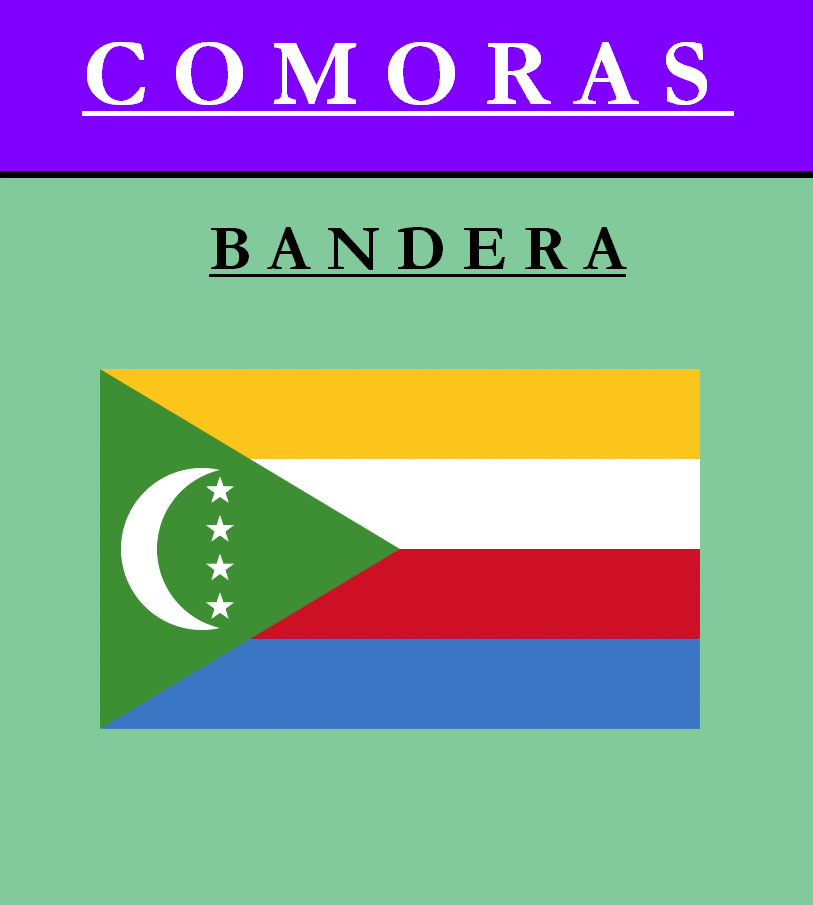 Escudo de BANDERA DE COMORAS
