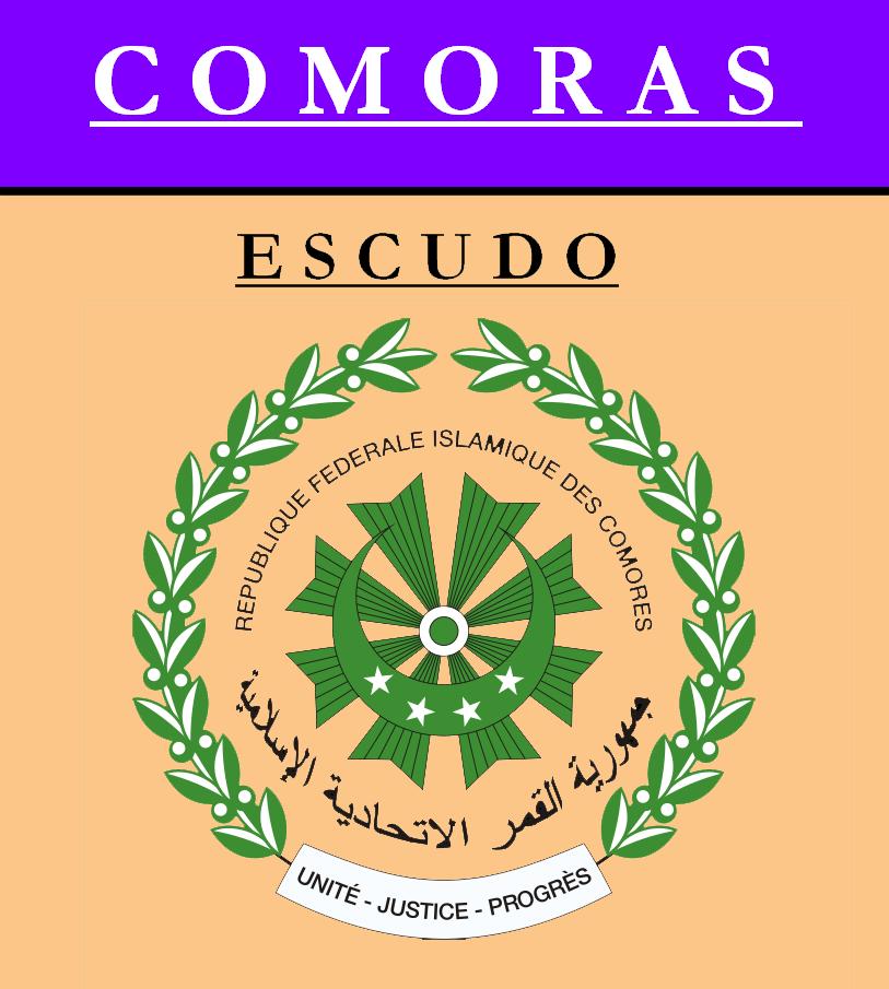 Escudo de ESCUDO DE COMORAS