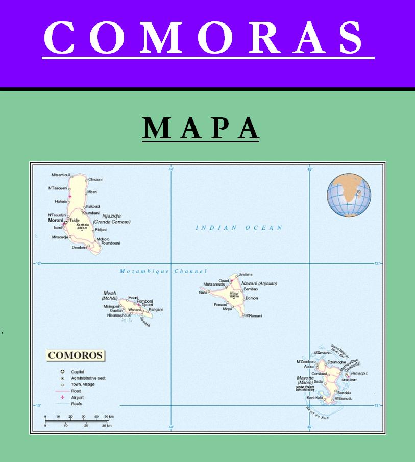 Escudo de MAPA DE COMORAS
