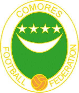 Escudo de 03 SLECCION FUTBOL COMORAS (COMORAS)