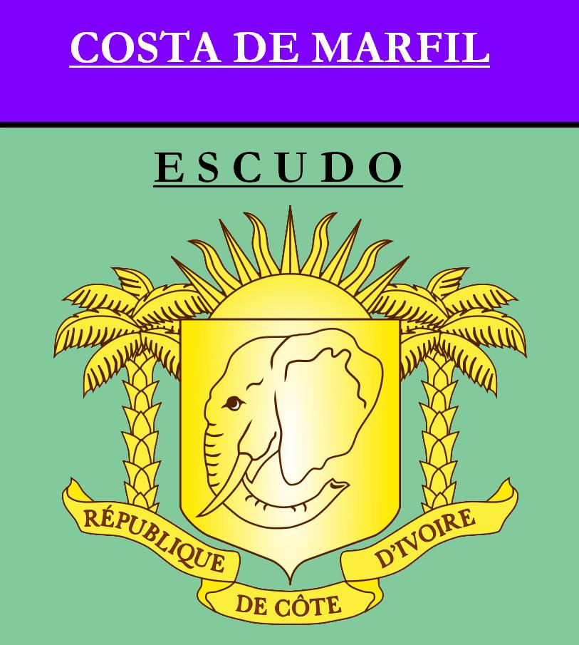 Escudo de ESCUDO DE COSTA DE MARFIL