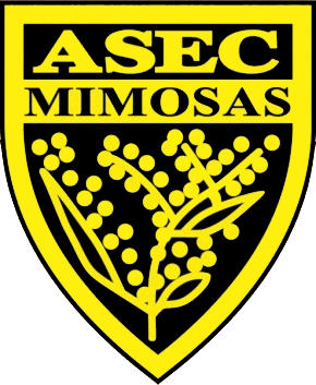 Escudo de ASEC MIMOSAS (COSTA DE MARFIL)