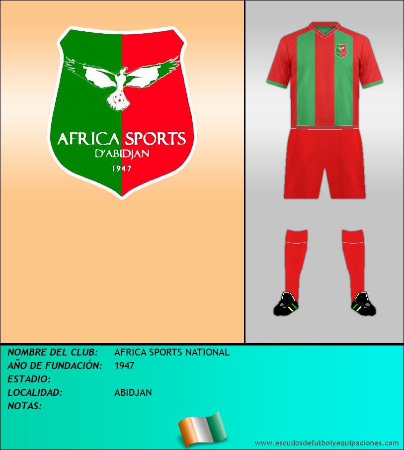 Escudo de AFRICA SPORTS NATIONAL