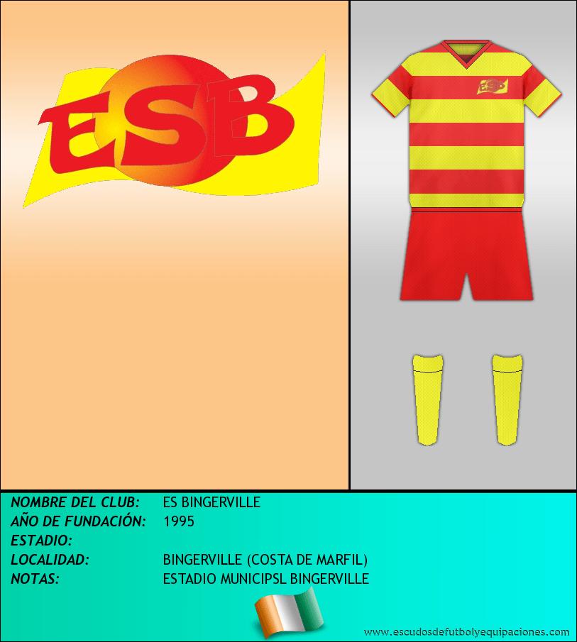 Escudo de ES BINGERVILLE