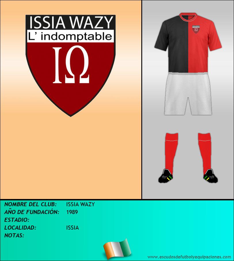 Escudo de ISSIA WAZY