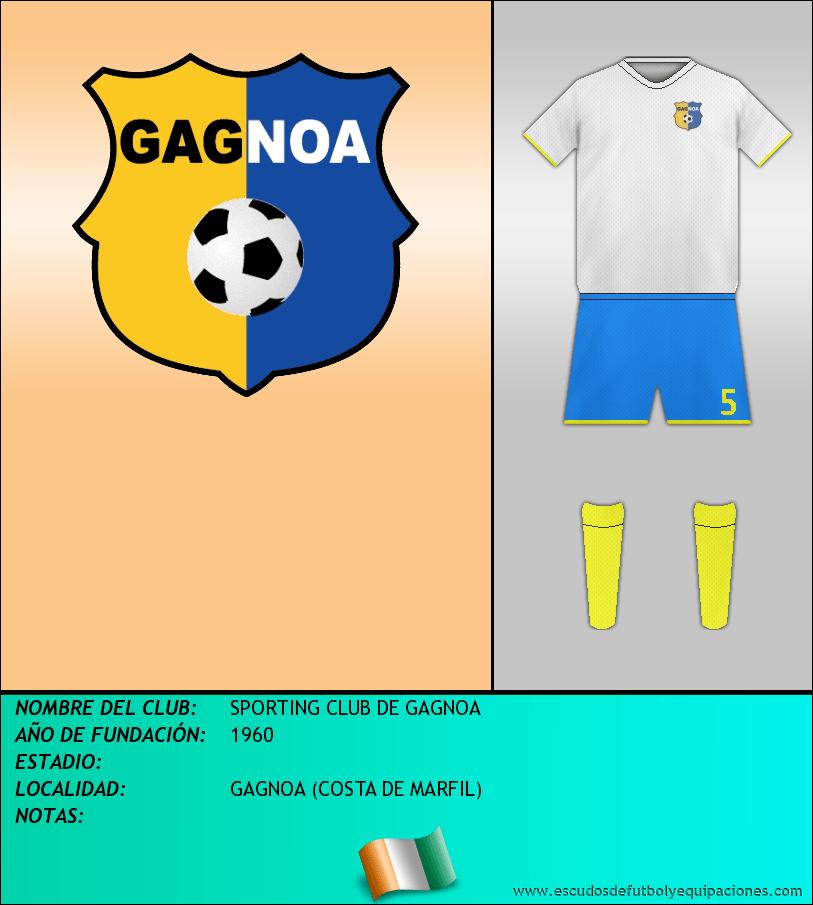 Escudo de SPORTING CLUB DE GAGNOA