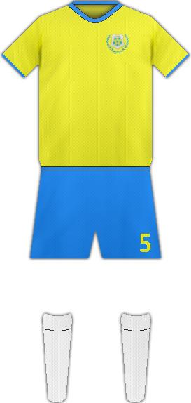Equipación ISMAILY SPORTING CLUB