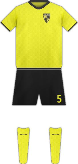 Equipación WADI DEGLA F.C.