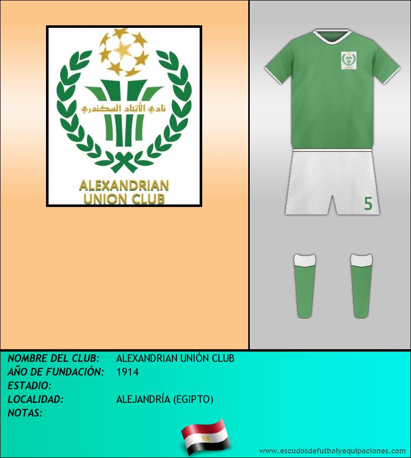 Escudo de ALEXANDRIAN UNIÓN CLUB