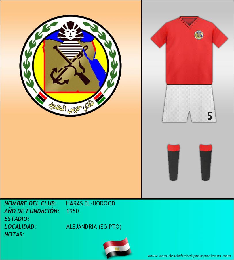 Escudo de HARAS EL-HODOOD